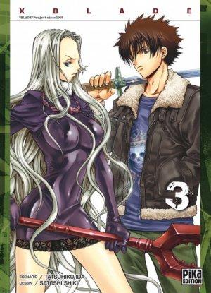 couverture, jaquette X Blade 3  (Pika) Manga