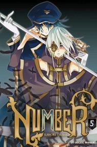couverture, jaquette Number 5  (soleil manga)
