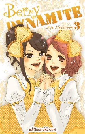 couverture, jaquette Berry Dynamite 3  (Delcourt Manga)