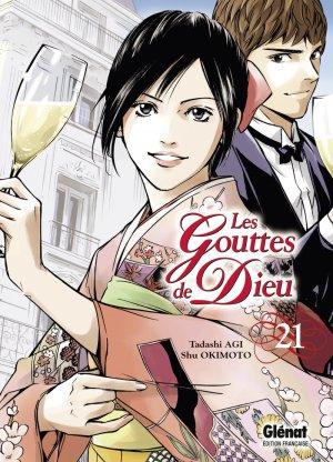 couverture, jaquette Les Gouttes de Dieu 21  (Glénat Manga)