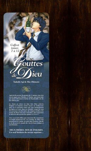 couverture, jaquette Les Gouttes de Dieu Coffret 2