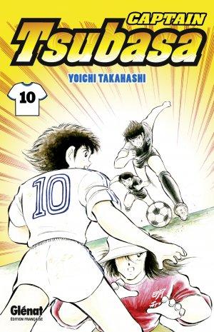 couverture, jaquette Captain Tsubasa 10 Réédition Française (Glénat Manga)