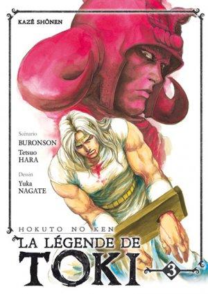 couverture, jaquette Hokuto no Ken - La Légende de Toki 3  (kazé manga) Manga