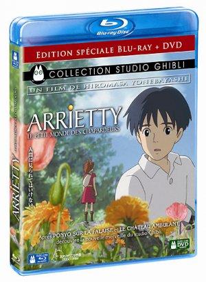 Arrietty Le Petit Monde des Chapardeurs édition Combo Blu-Ray/DVD