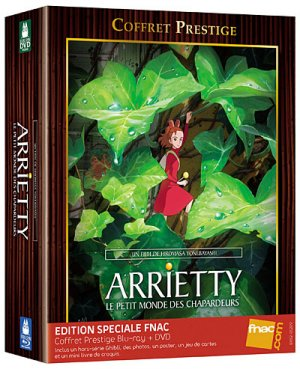 Arrietty Le Petit Monde des Chapardeurs édition Spéciale Fnac  - combo Blu-Ray/DVD