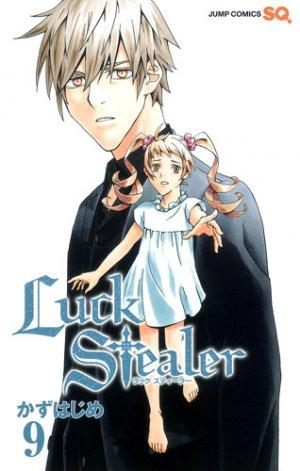 couverture, jaquette Luck Stealer 9  (Shueisha)