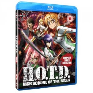 Highschool of the Dead édition Blu-Ray UK