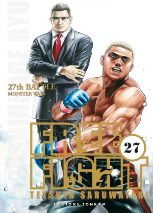 couverture, jaquette Free Fight - New Tough 27  (Tonkam)