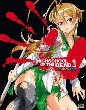 Highschool of the Dead édition Couleur