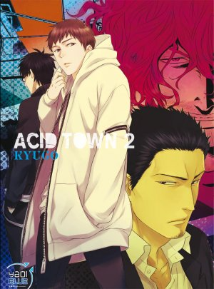 couverture, jaquette Acid Town 2  (Taifu Comics)