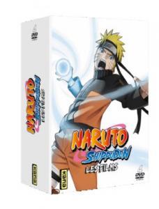 couverture, jaquette Naruto Shippuden - Les 4 premiers films  Coffret DVD (Kana home video)