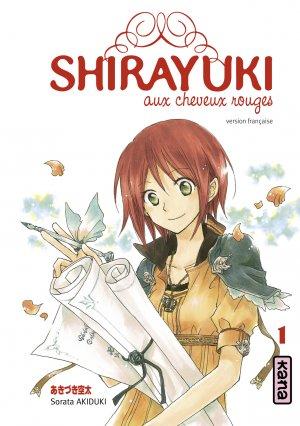 Shirayuki aux cheveux rouges édition Simple