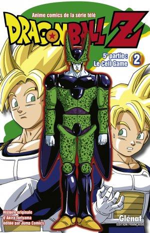 couverture, jaquette Dragon Ball Z - 5ème partie : Le Cell Game 2  (Glénat Manga) Anime comics