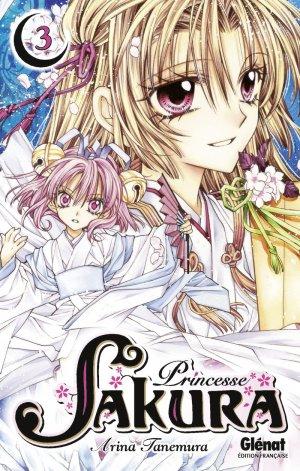 couverture, jaquette Princesse Sakura 3  (Glénat Manga)