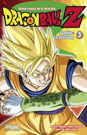 couverture, jaquette Dragon Ball Z - 5ème partie : Le Cell Game 3  (Glénat Manga) Anime comics