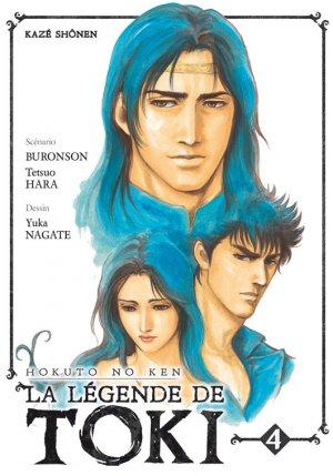 couverture, jaquette Hokuto no Ken - La Légende de Toki 4  (kazé manga)