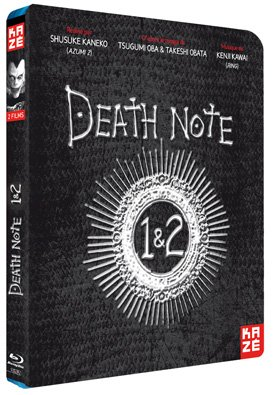 Death Note Films 1 et 2 édition Blu-ray