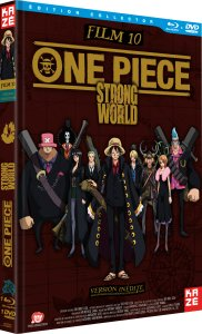 One Piece - Film 10 : Strong World édition Collector Blu-ray + DVD