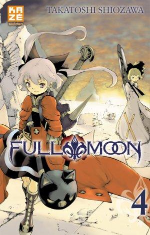 couverture, jaquette Full Moon (Shiozawa) 4  (kazé manga)