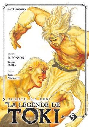 couverture, jaquette Hokuto no Ken - La Légende de Toki 5  (kazé manga)