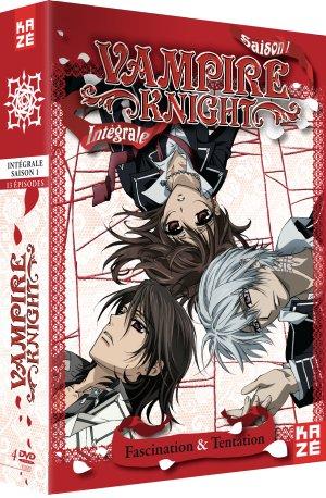 couverture, jaquette Vampire Knight - Saison 1  Intégrale DVD (Kaze) Série TV animée