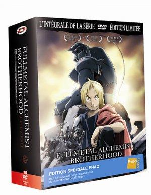 couverture, jaquette Fullmetal Alchemist Brotherhood  Intégrale DVD Spéciale Fnac (Dybex)