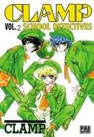 couverture, jaquette Clamp School Détectives 2  (Pika)