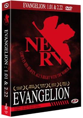 Evangelion NERV - 1.01 et 2.22 édition Coffret DVD