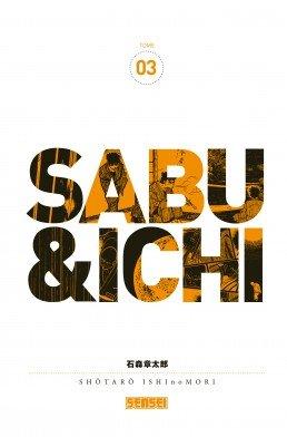 couverture, jaquette Sabu et Ichi 3  (kana)