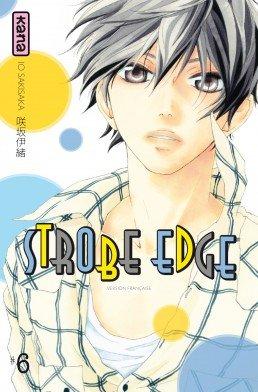 couverture, jaquette Strobe Edge 6  (kana) Manga