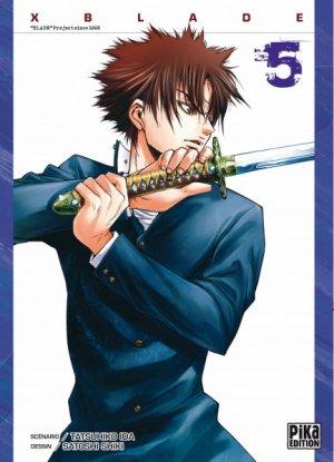 couverture, jaquette X Blade 5  (Pika) Manga