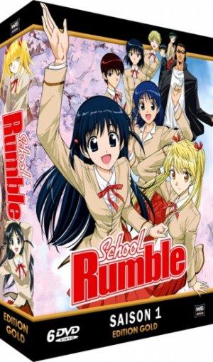 School Rumble - Saison 1 édition EDITION GOLD