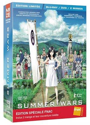 Summer Wars édition Edition limitée / Blu-Ray / DVD / 2 Manga