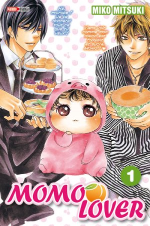 couverture, jaquette Momo Lover 1  (Panini manga)