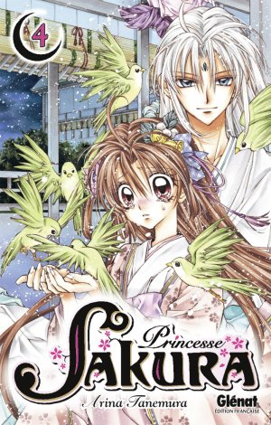 couverture, jaquette Princesse Sakura 4  (Glénat Manga)