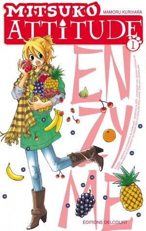 couverture, jaquette Mitsuko Attitude 1  (Delcourt Manga)