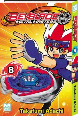 Beyblade Metal Fusion/Masters/Fury # 8