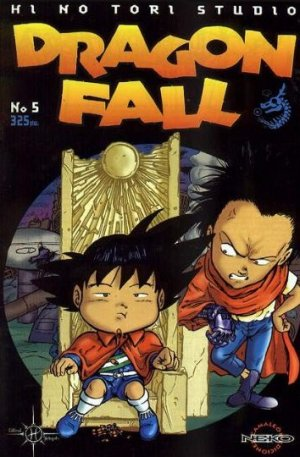 couverture, jaquette Dragon Fall 5  (Hi No Tori Studio) Global manga