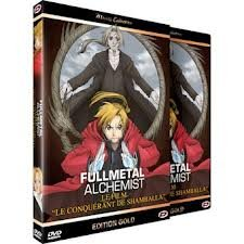 Fullmetal Alchemist - Film 1 - Conqueror of Shamballa édition EDITION GOLD - VO/VF