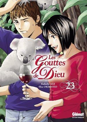 couverture, jaquette Les Gouttes de Dieu 23  (Glénat Manga)