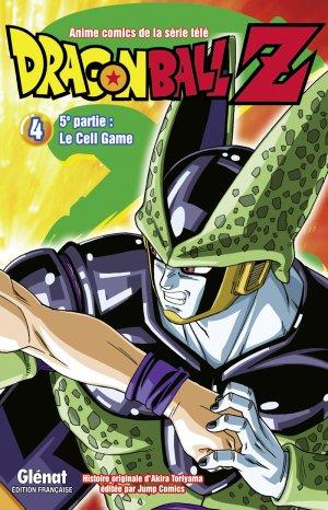 couverture, jaquette Dragon Ball Z - 5ème partie : Le Cell Game 4  (Glénat Manga)