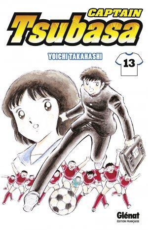 couverture, jaquette Captain Tsubasa 13 Réédition Française (Glénat Manga)