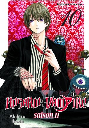 couverture, jaquette Rosario + Vampire - Saison II 10  (Tonkam)