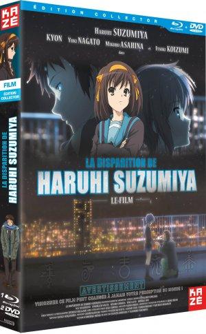 La Disparition d'Haruhi Suzumiya édition Collector DVD + BR