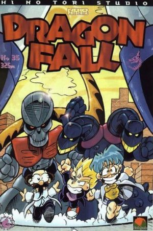 couverture, jaquette Dragon Fall 35  (Hi No Tori Studio)