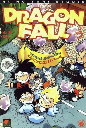 couverture, jaquette Dragon Fall 37  (Hi No Tori Studio)