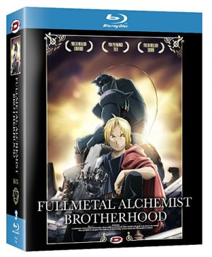 couverture, jaquette Fullmetal Alchemist Brotherhood 1 Blu-ray (Dybex)