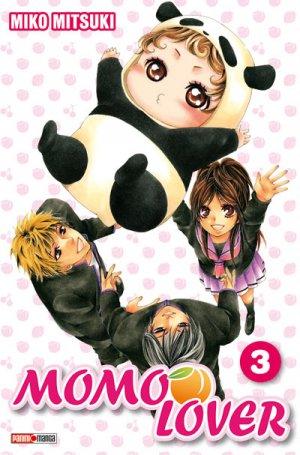 couverture, jaquette Momo Lover 3  (Panini manga)