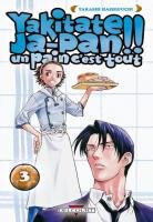 couverture, jaquette Yakitate!! Japan 3  (Delcourt Manga)