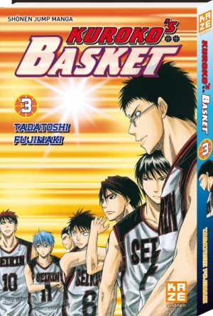 couverture, jaquette Kuroko's Basket 3  (kazé manga) Manga
